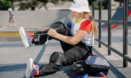 Skatista bicampeã mundial, Brighton Zeuner, apresenta a sua 1ª coleção pela Vans
