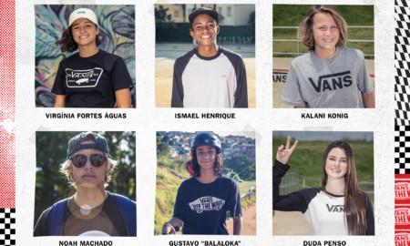 A Vans Brasil anuncia os seus novos reforços no skate, surf e BMX