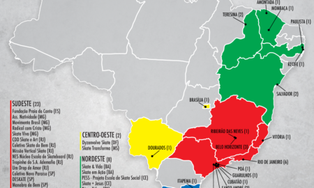 CBSk e ONG Social Skate mapeiam projetos sociais com skate no Brasil