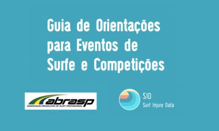 Surf Injury Data e Abrasp criam protocolo de segurança para retomada dos eventos do surf Pro pós Covid 19