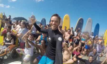 Surfista e professor, Ricardinho é pré-candidato nas eleições de 2020 em São Vicente