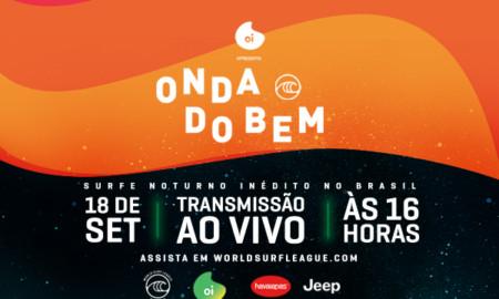 """WSL promove o """"Onda do Bem"""", torneio que irá unir atletas e celebridades"""