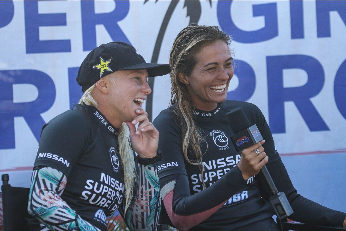 Tatiana Weston-Webb e Brianna Cope (Crédito: Andrew Nichols / WSL via Getty Images)