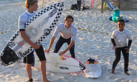 Surf Treino ASJ movimenta o feriado na Joaca
