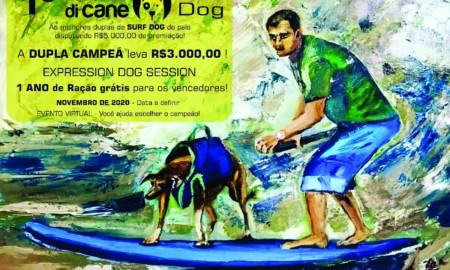 Surf Dog reunirá cães e seus donos em disputa de surf inédita no país