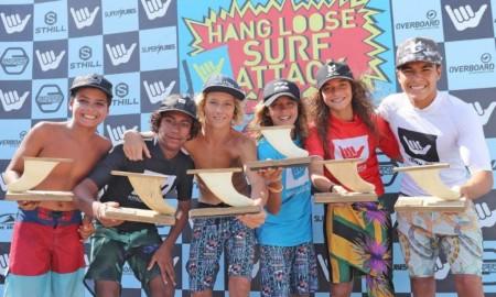 Hang Loose Surf Attack confirmado para os dias 16 a 18 na Praia de Itamambuca