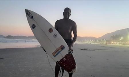 O surf quer seu espaço na Câmara de Guarujá