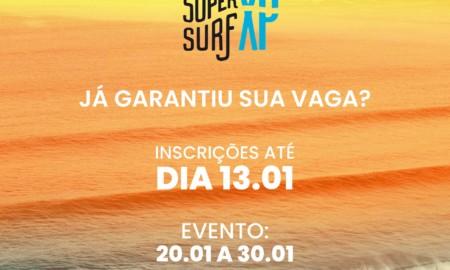 Inscrições para o Super Surf XP Amador já estão abertas