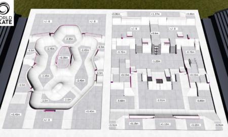 World Skate divulga projeto das pistas de Park e Street para Olimpíadas de Tóquio