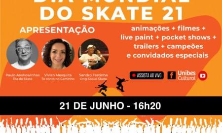 Unibes Cultural transmite talk show ao vivo em celebração ao Dia do Skate