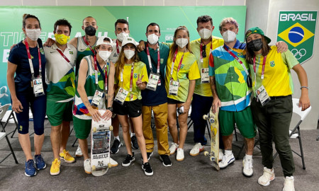 Seleção Brasileira Olímpica de Park já está no Japão