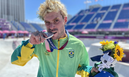 Skatista Pedro Barros é prata nas Olimpíadas de Tóquio