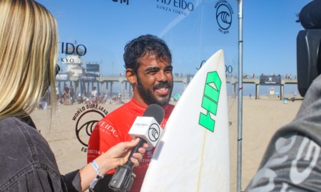 Edgard Groggia conquistou a única vitória sul-americana na quinta-feira