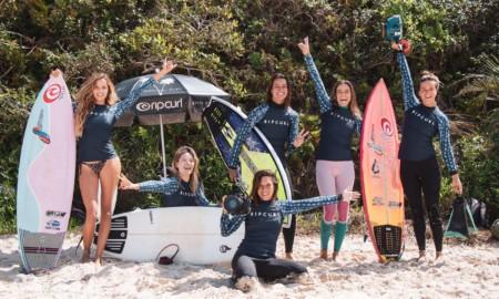 Rip Curl incentiva o surf feminino em anuncio de parceria com Claudinha Gonçalves