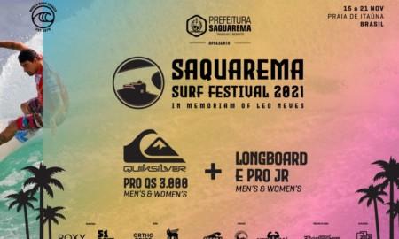 213 Sports e WSL Latin America realizam o Saquarema Surf Festival