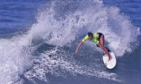 Kemily Sampaio está animada para tentar o tricampeonato praiagrandense de surfe