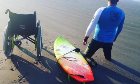Surf Adaptado estreia no circuito Sculp apresenta APGS de Surf 2021