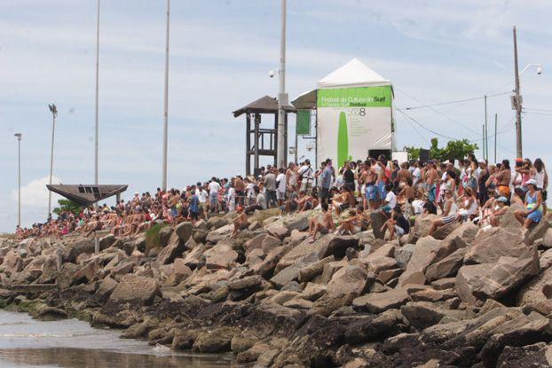 Santos Surf Festival de 2008,  no Quebra-Mar, Santos (SP) / Foto Fábio Plácido