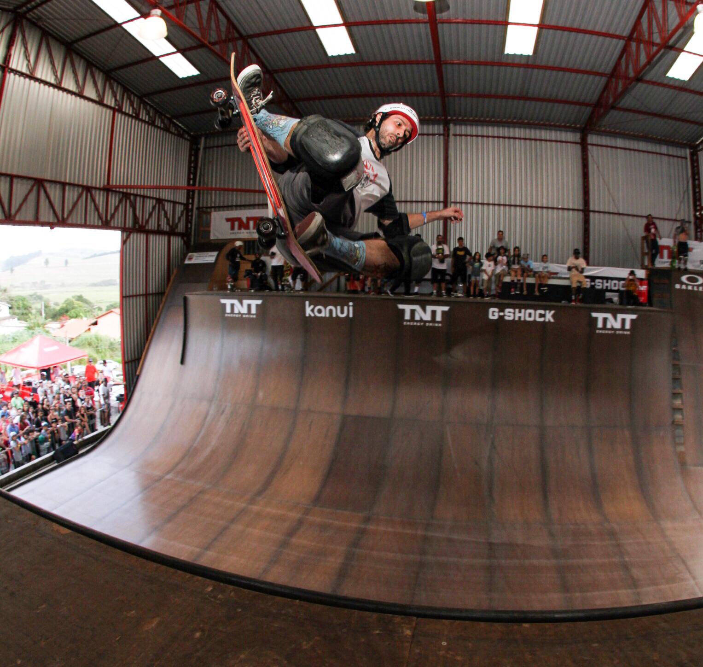 Cris Mateus foi o campeão da Pro Master / Foto Flávio Gomes