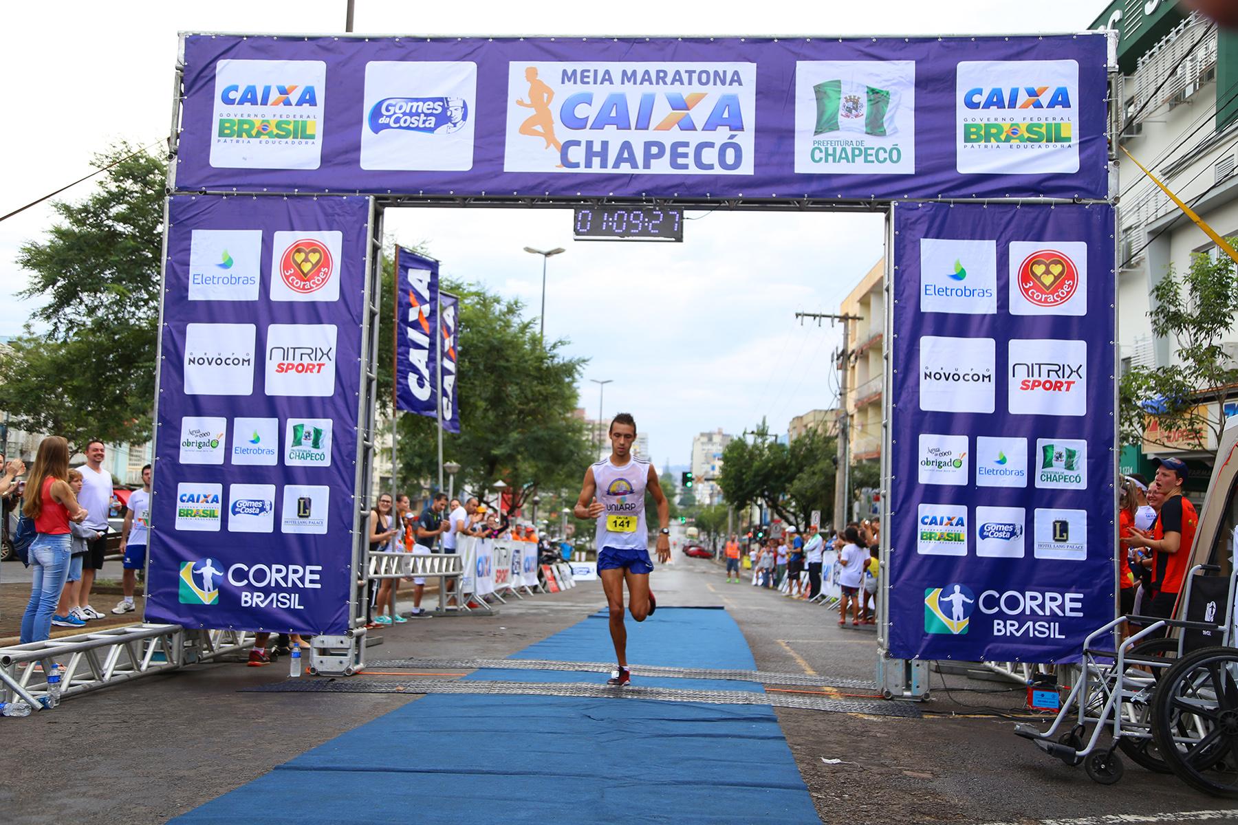 Entre os homens, Laurindo pulverizou o antigo recorde da prova em quase cinco minutos / Foto Junior Duarte