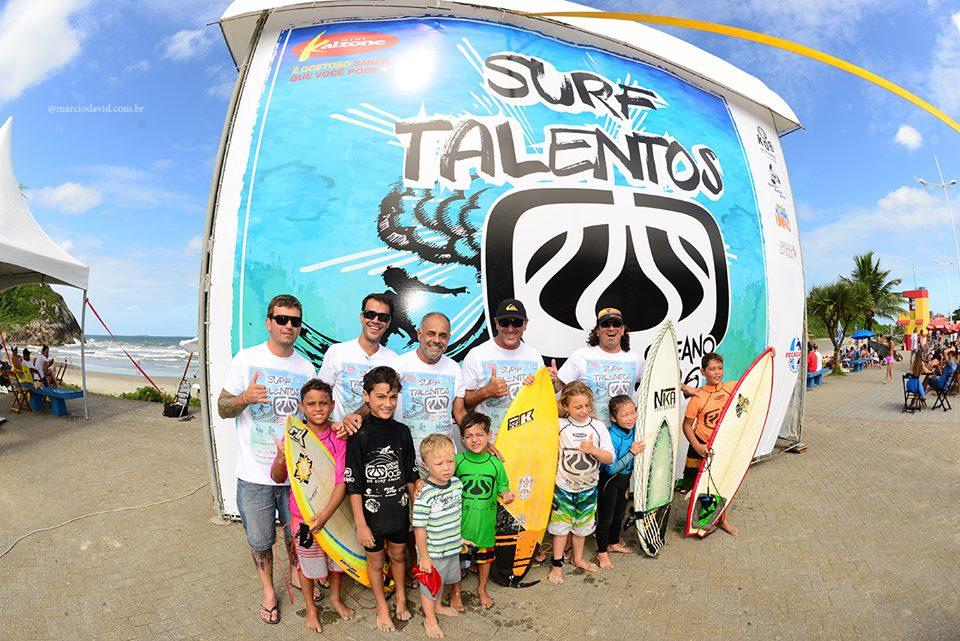 Diretoria Fecasurf, organizador e atletas Petiz, Circuito Surf Talentos Oceano 2016 Foto Marcio David
