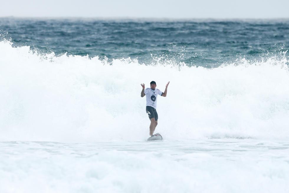 Gabriel Medina ficou com a terceira posição no Oi Rio Pro / Foto Daniel Smorigto