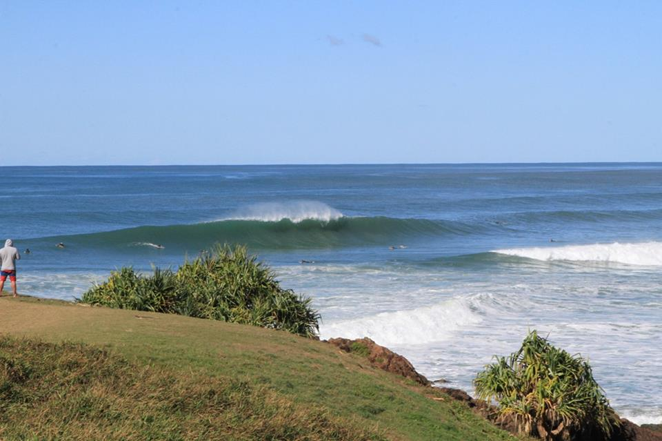 Surfista local em Hastings Point / Foto Aires Nicolay