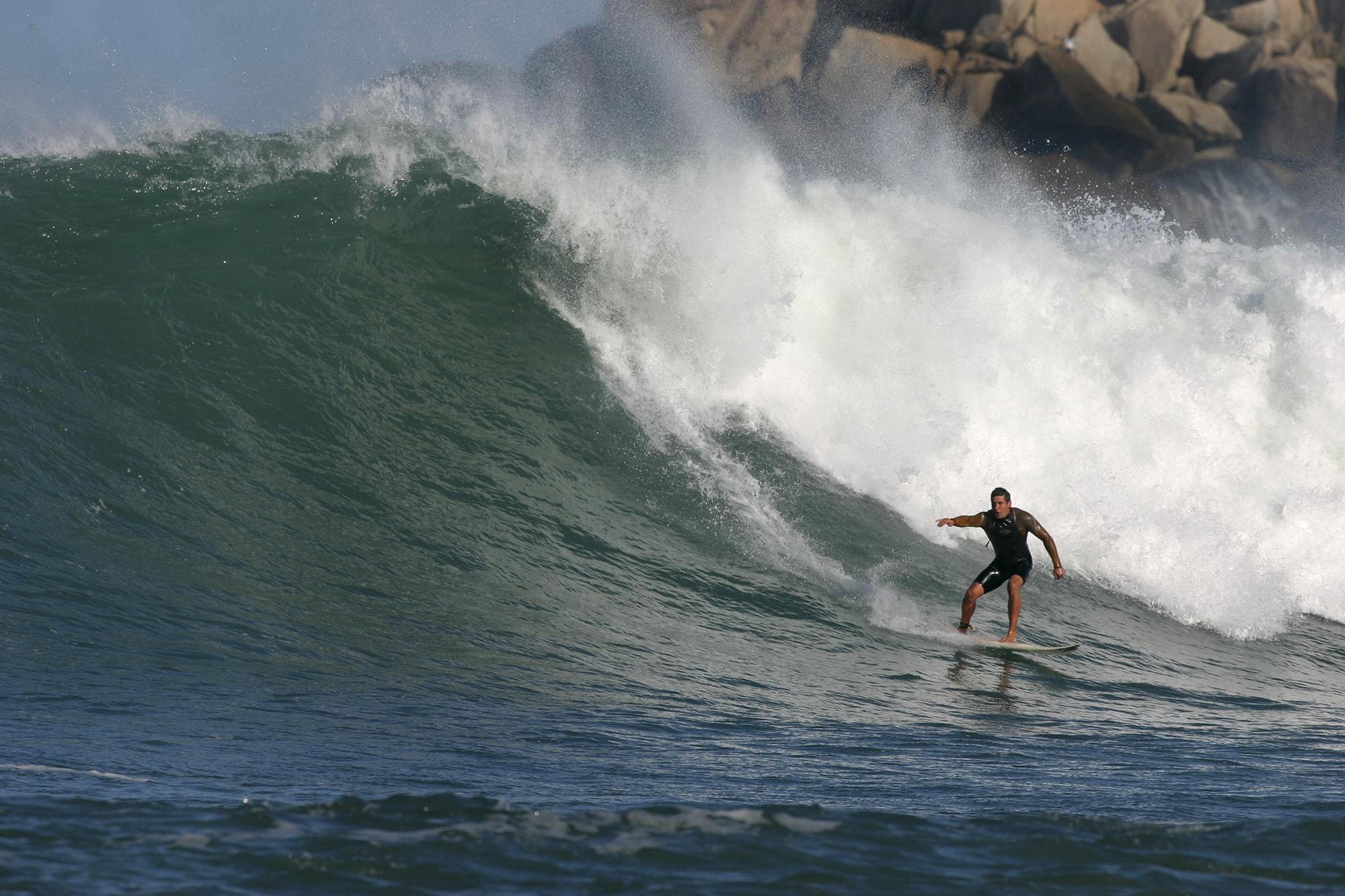 Norton Evaldt, Praia da Vila / Foto Basilio Ruy