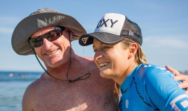 Dave e Bronte Macaulay / Foto WSL Marenelmar