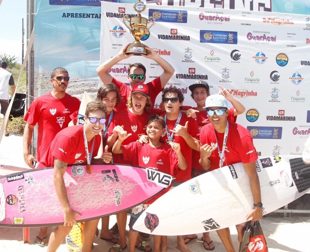 ASBC Balneário Camboriú terminou na terceira colocação / Foto Basilio Ruy