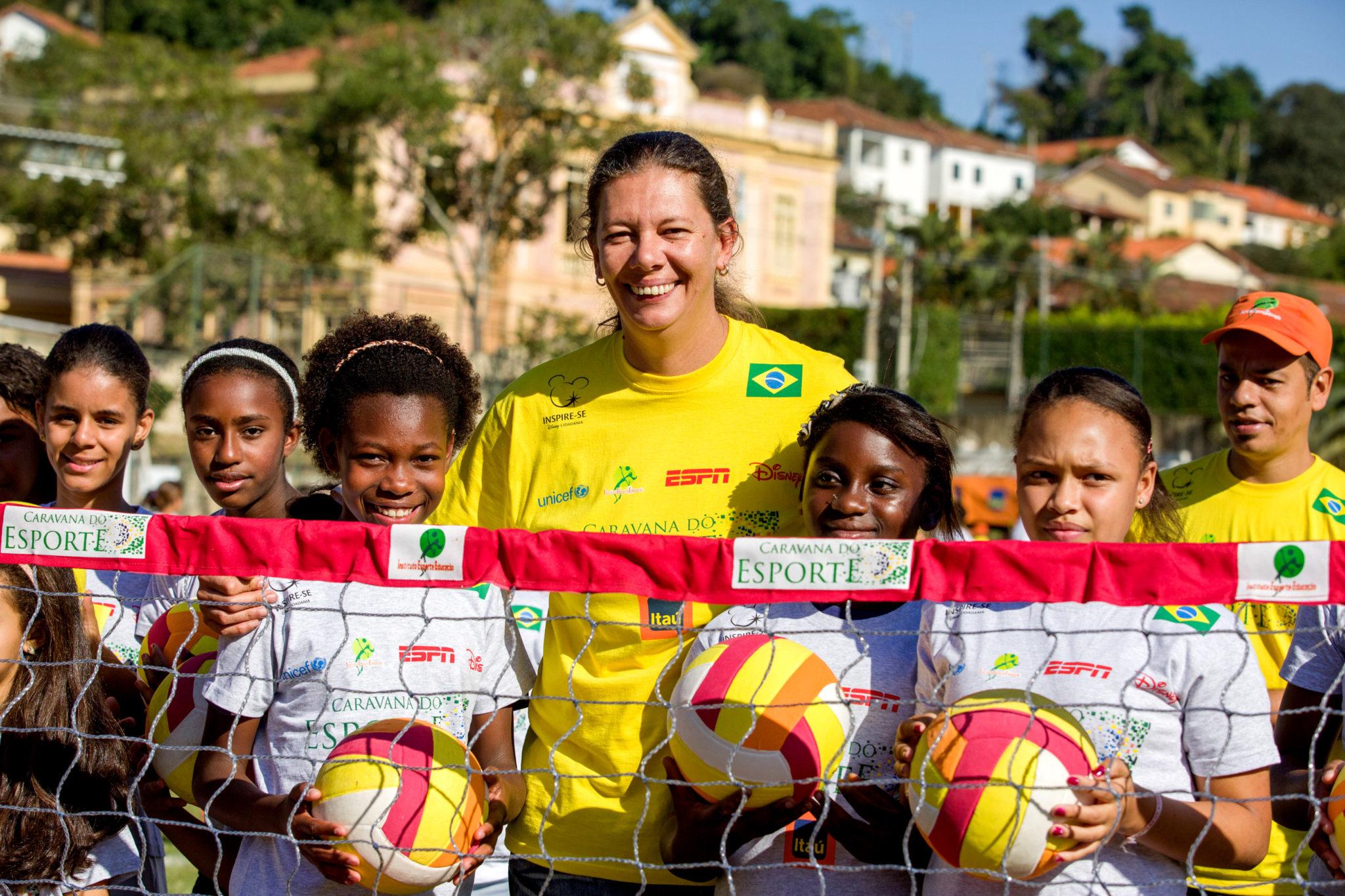 Ana Moser estará em Lauro de Freitas (Celia Santos/IEE)