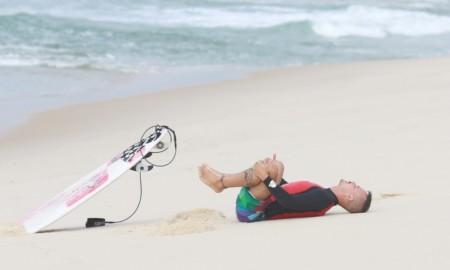 Alongue-se e solte seu surf!