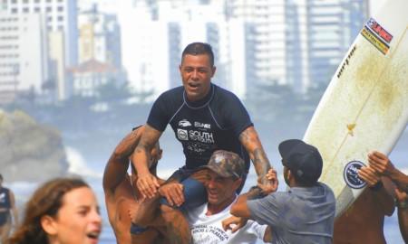 Aos 40, Fábio Porto retorna focado à segunda etapa do Vicentino de Surf 2019