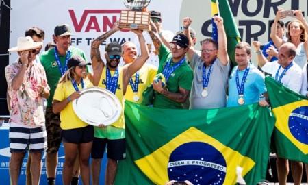 Destaques do Brasil no surf são contemplados no Programa Bolsa Pódio