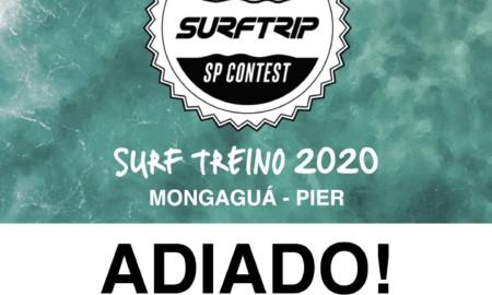 ASGSP adia o Surf Treino SP CONTEST 2020