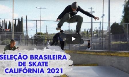 Seleção brasileira de skate se estruturando para Tókio