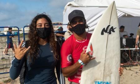 Edgard Groggia e Daniella Rosas conquistam o Corona Open Salinas Surf City no Equador