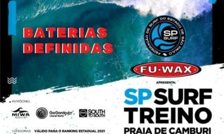 Fu Wax apresenta SP Surf Treino acontece nesta quarta-feira, dia 9