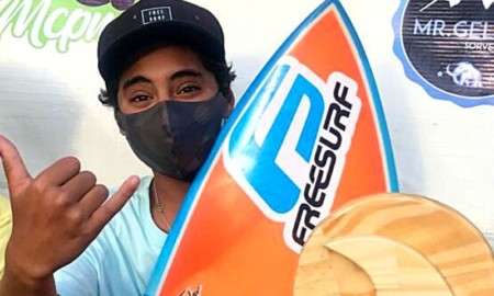 Kalani é destaque na 1ª etapa do Surf Treino Super Grommets Ubatuba