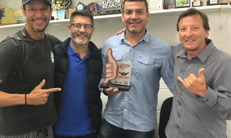 SPSurf e Secretaria de Esporte do Guarujá alinham detalhes da última etapa do Estadual de Surf 2021